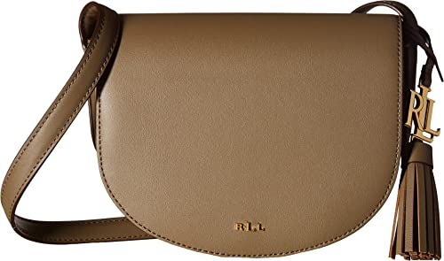 35234253bd LAUREN Ralph Lauren Women s Dryden Caley Mini Saddle Sage Caramel One Size