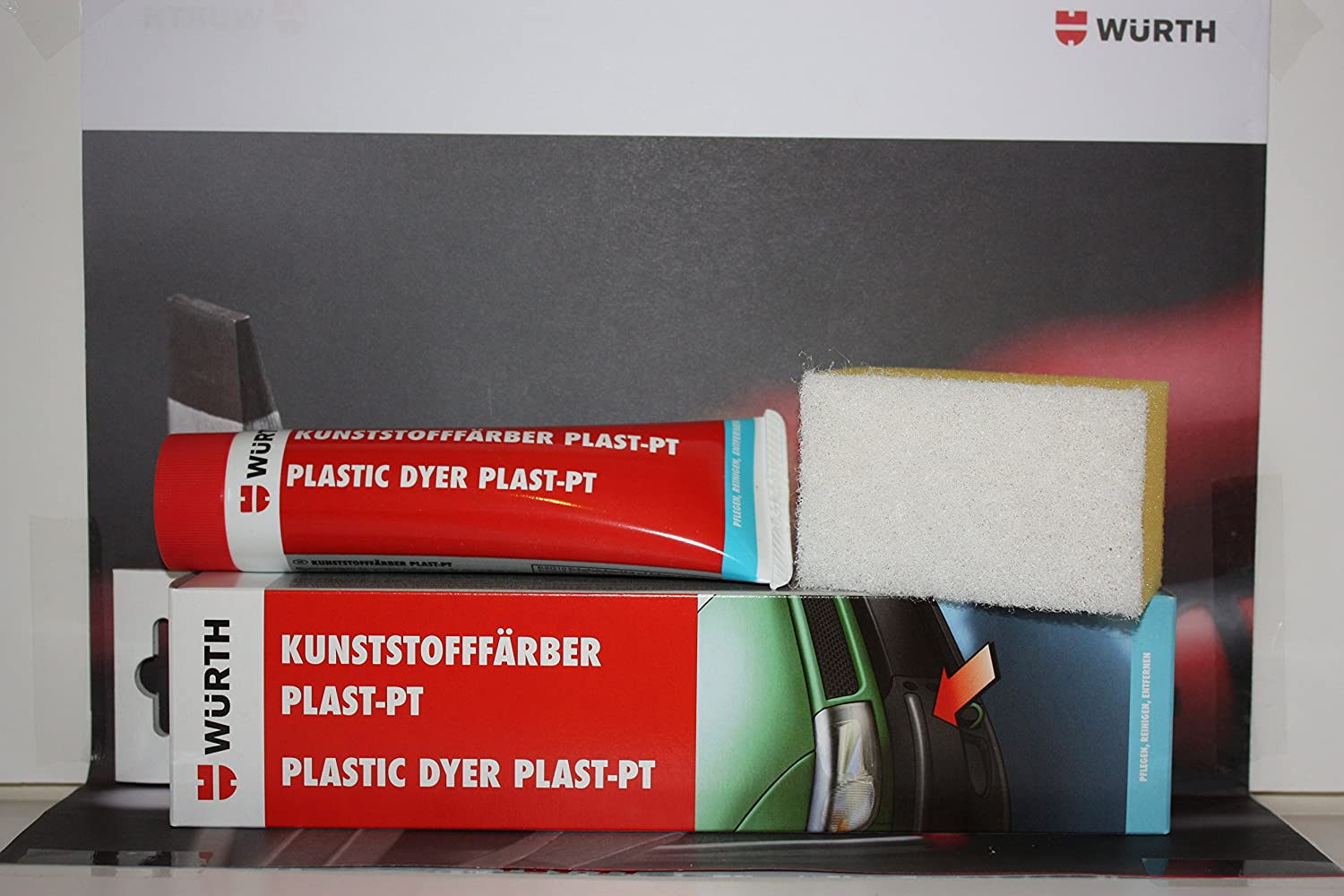 Wurth Plastic Dye Plast-PT 75ml Black