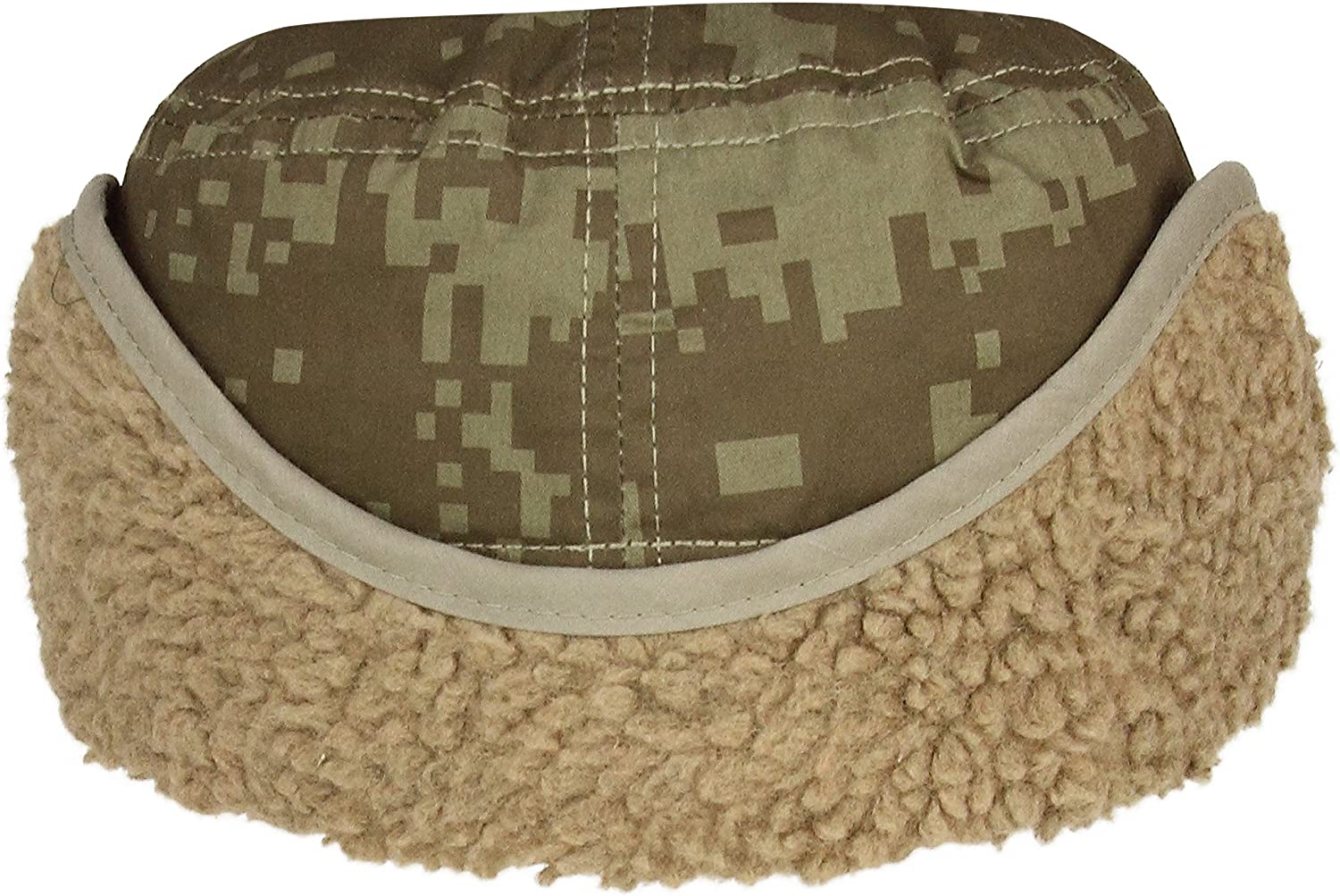 Infinity Selections Winter Limited Edition Cotton Canvas Army Earflap Cap