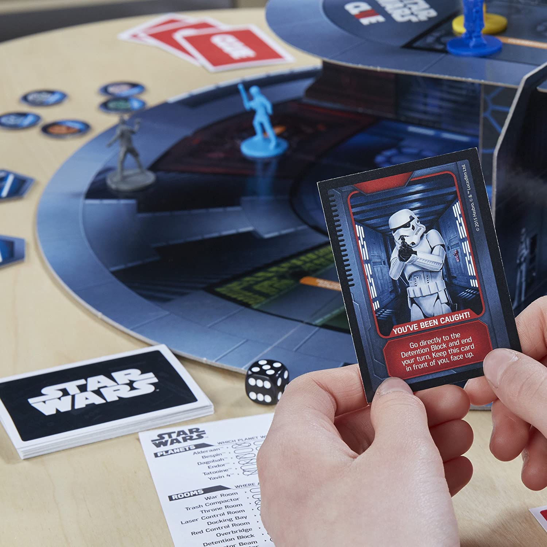Star Wars Clue Board Game: Amazon.es: Juguetes y juegos