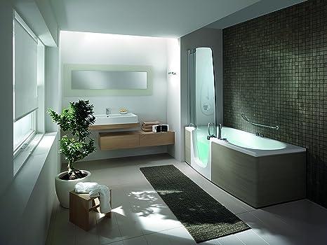 Vasche Da Bagno Teuco Angolari : Teuco vasca da bagno porta scorrevole sinistra con clean