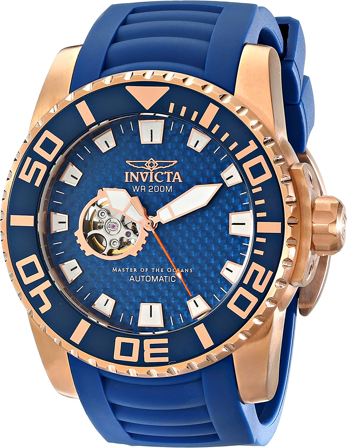 Invicta Men s 14683 Pro Diver Analog Display Japanese Automatic Blue Watch