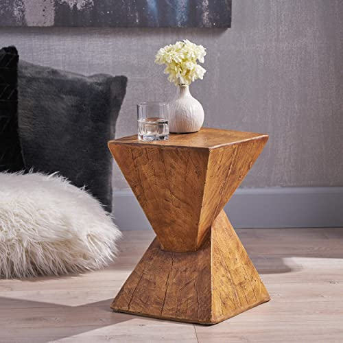 Christopher Knight Home Jerod Light-Weight Concrete Accent Table