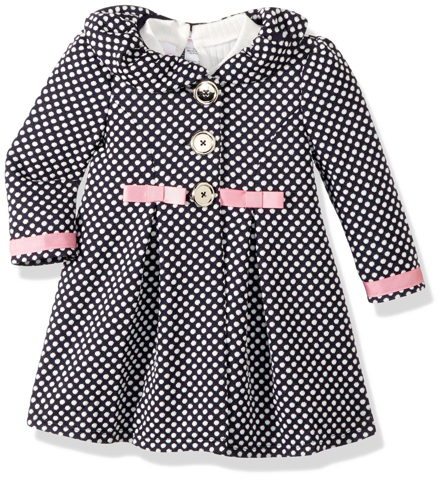 a391e5acf6ece Bonnie Baby Coat Set Navy 6-9 Months New 191539017666 | eBay