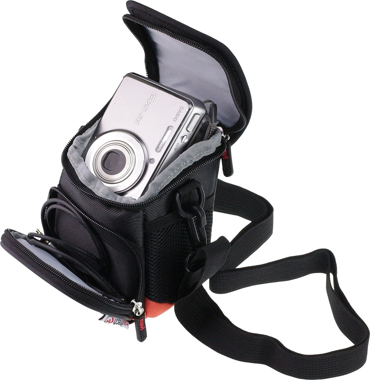 Navitech Housse Noire de Sac de Cas dappareil-Photo pour Le Fujifilm X100F