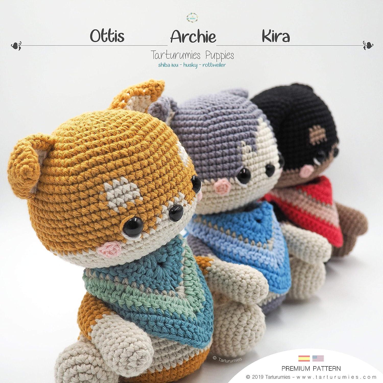 little rottie amigurumi, crochet rottweiler, crochet puppy   1500x1500