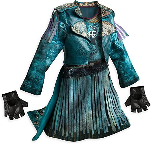 Disney Uma Costume for Kids - Descendants 2 Size 11/12: Amazon.es ...