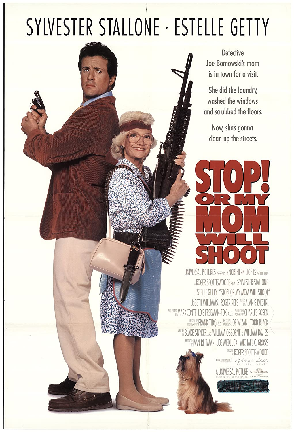 Stop! Or My Mom Will Shoot 1992 Authentic 27