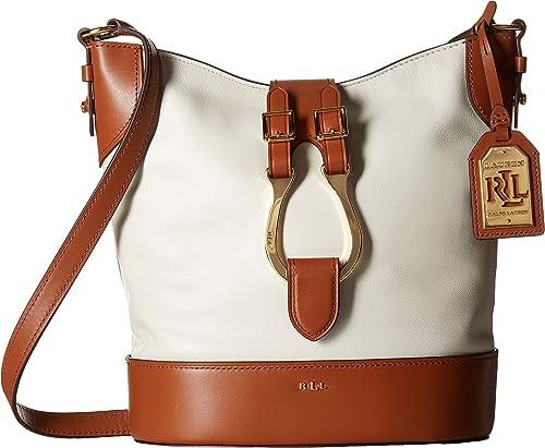 7d064cf8b7 LAUREN Ralph Lauren Women s Dorrington Caden Large Crossbody Vanilla Latte  Crossbody Bag  Amazon.ca  Shoes   Handbags