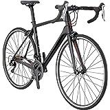 Schwinn Fastback Carbon Performance Road Bike for Advanced to Expert Riders, Matte Black , 57cm/Extra Large Frame