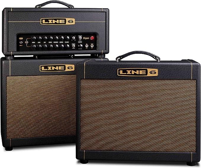 Line 6 DT25 25W/10W 1x12 Combo amplificador de tubo de guitarra ...