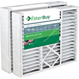 FilterBuy 20x25x5 Honeywell FC100A1037 Compatible Pleated AC Furnace Air Filters (Pack of 2). AFB Platinum MERV 13.