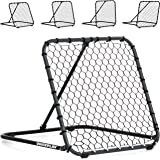 QUICKPLAY PRO Rebounder – Pitch Back Baseball, Soccer Rebounder, Softball Pitching and Throwing Practice Trainer, Adjustable Angle Pitchback Trainer & Multi-Sport Ball Return Net - NEW 2018 -