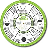 Moon Calendar for Gardeners. Garden in Harmony with Phases of the Moon. Biodynamic Gardening Methods and Old Farmers Almanac