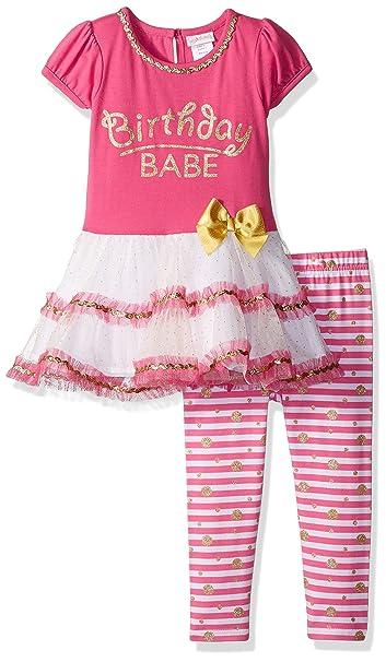 Amazon.com: Youngland Cumpleaños de las niñas Babe Tutu ...