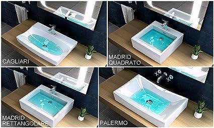 Lavabo bagno o lavandino integrato mobile bagno o sospeso