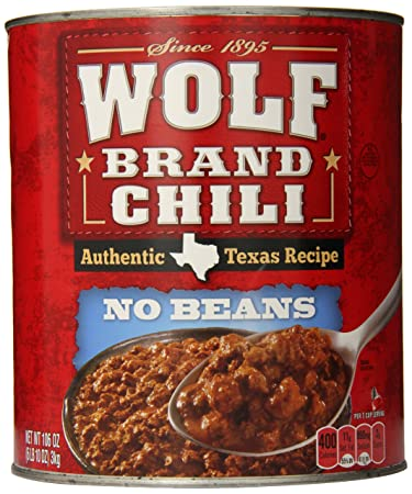 Amazon.com   Wolf Brand No Beans Chili, 106 Ounce   Gravies ... bc34fd4b01
