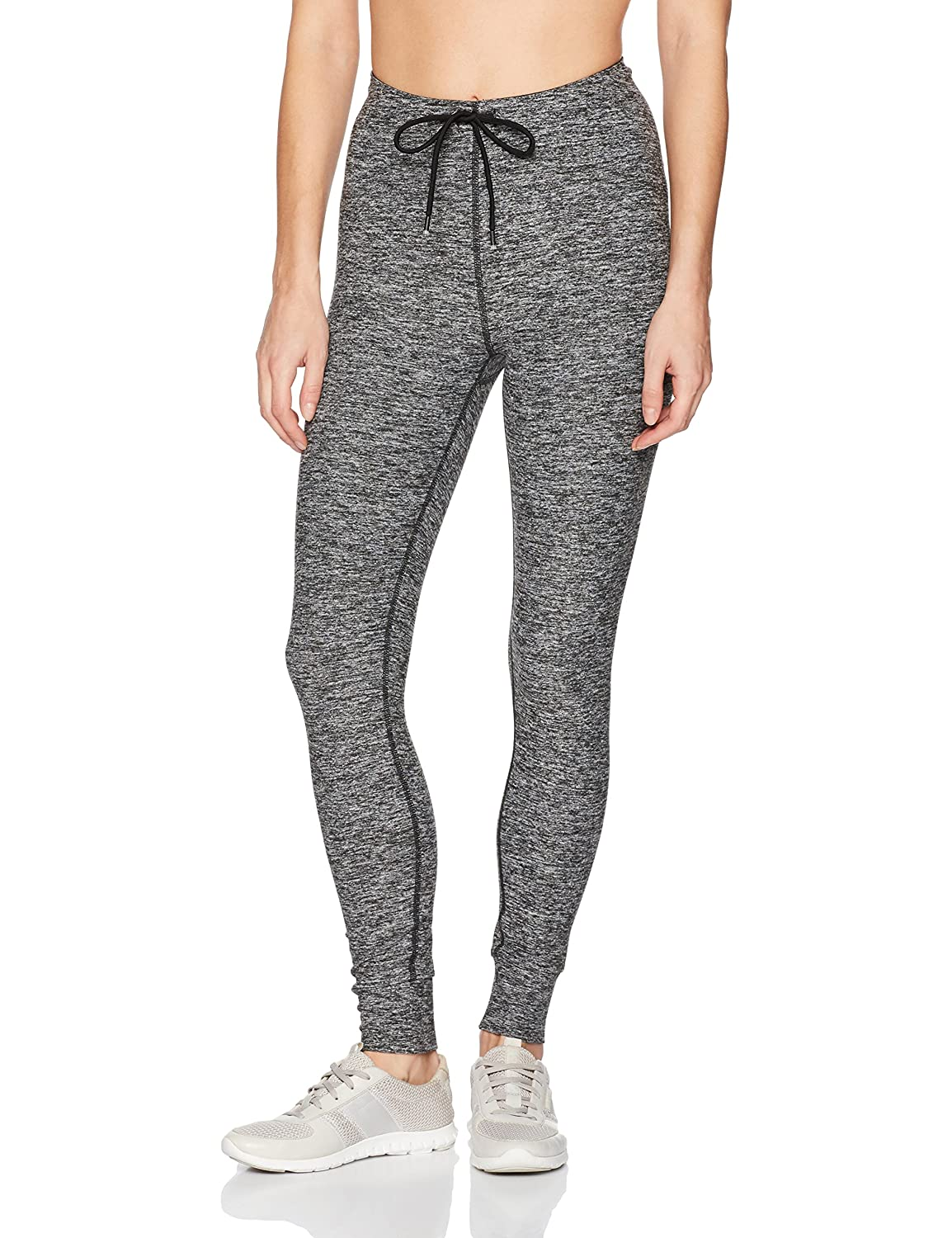 Marc New York Performance Womens Long Jogger Style Legging W//Logo Elastic