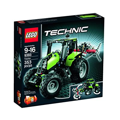 LEGO Technic Tractor 9393: Toys & Games