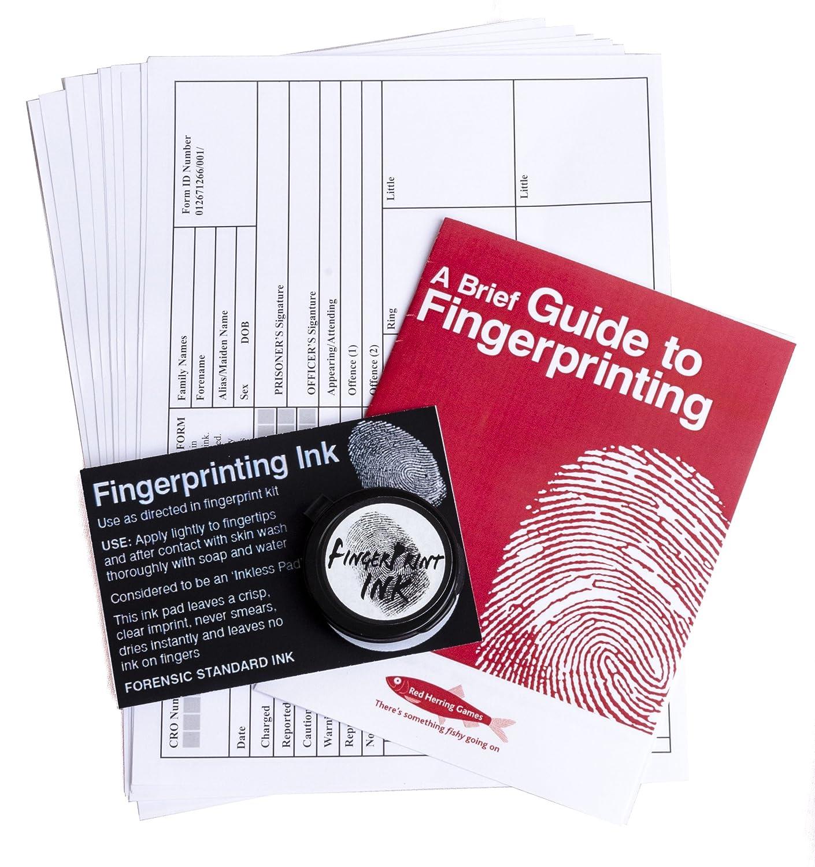 Fingerprint kit Red herring games