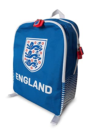 078442268a95 England FA Official Football Gift 3 Lions Sports Kit Bag Backpack ...