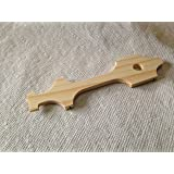 Ultralite Pinewood Derby Car Body Only - Canopy #3 by Derby Dust