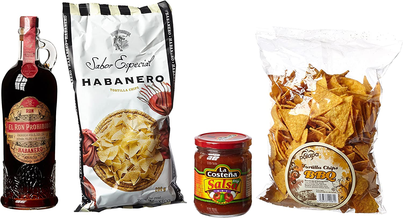 Sierra Madre Rum Prohibido Snack Paquete Pequeño, 1er Pack ...