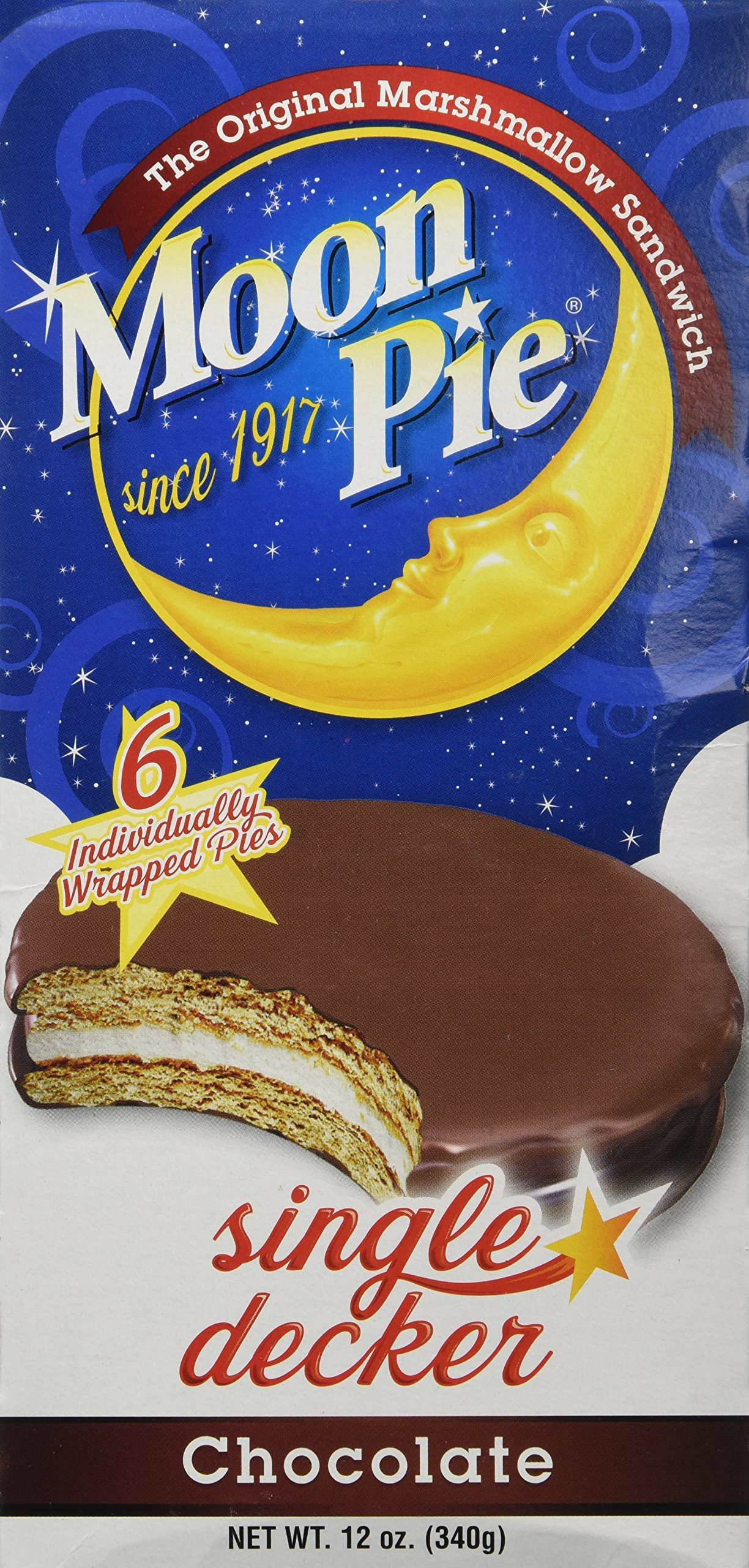 Moon Pie Original Marshmallow Sandwich Cookie by MoonPie