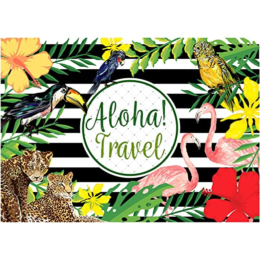 musykrafties Aloha viajes bosque Tropical Luau Party fondo ...