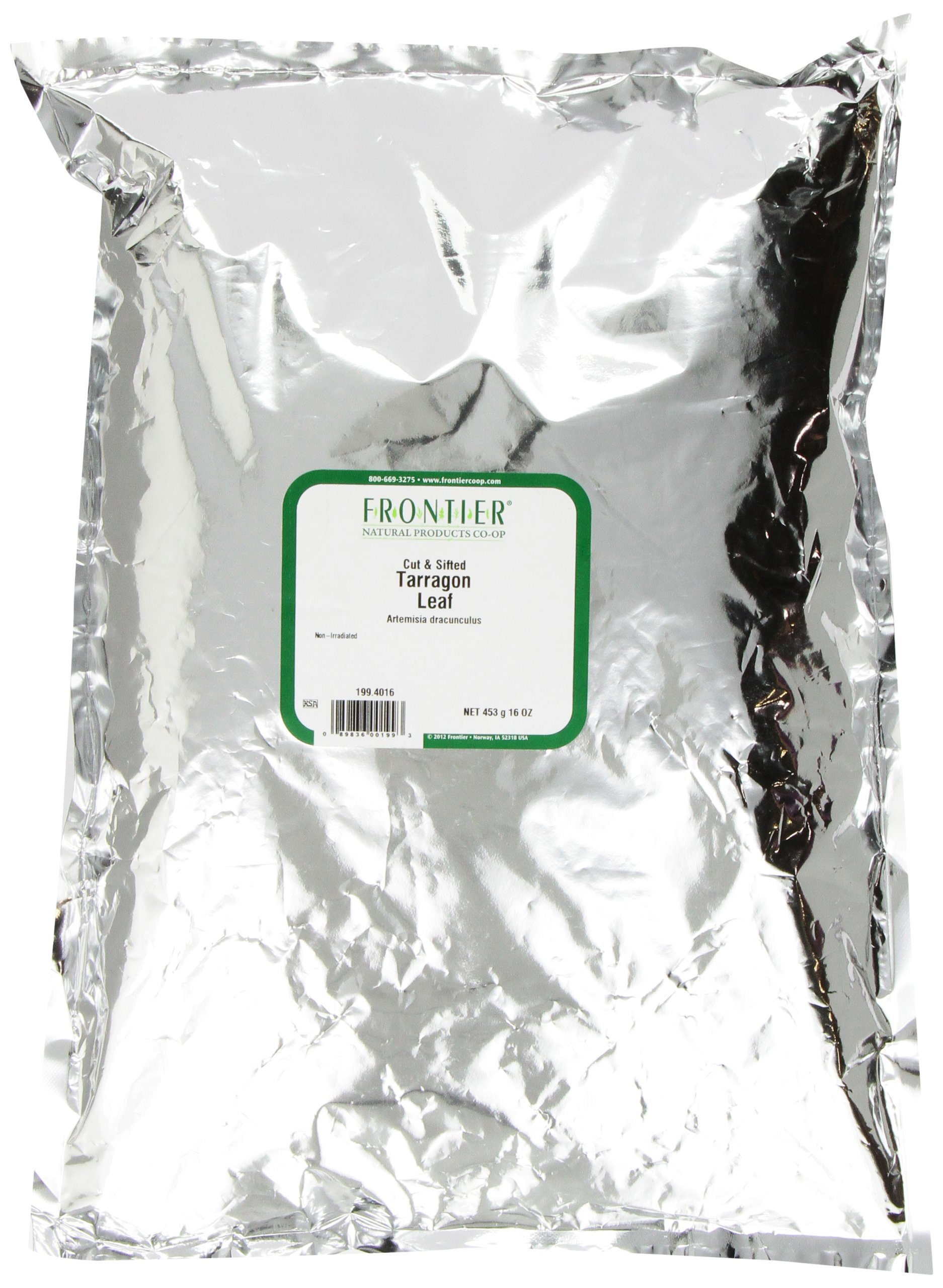 Frontier Tarragon Leaf C/s, 16 Ounce Bag