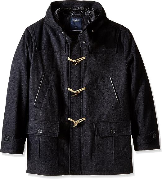 Nautica Girls Faux Wool Toggle Front Coat