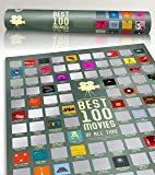 "100 Movie Scratch Off Poster Top Films of All Time Bucket List by Travel Revealer Scratch Off Movie Poster. 17""x24…"