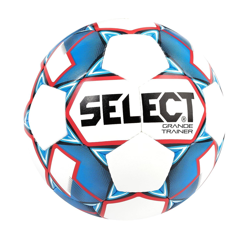 Select Balón de fútbol Grande Trainer, Color Blanco/Azul/Rojo ...