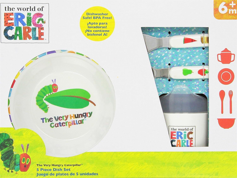sc 1 st  Amazon.com & Amazon.com: World of Eric Carle Melamine Dish Set: Baby