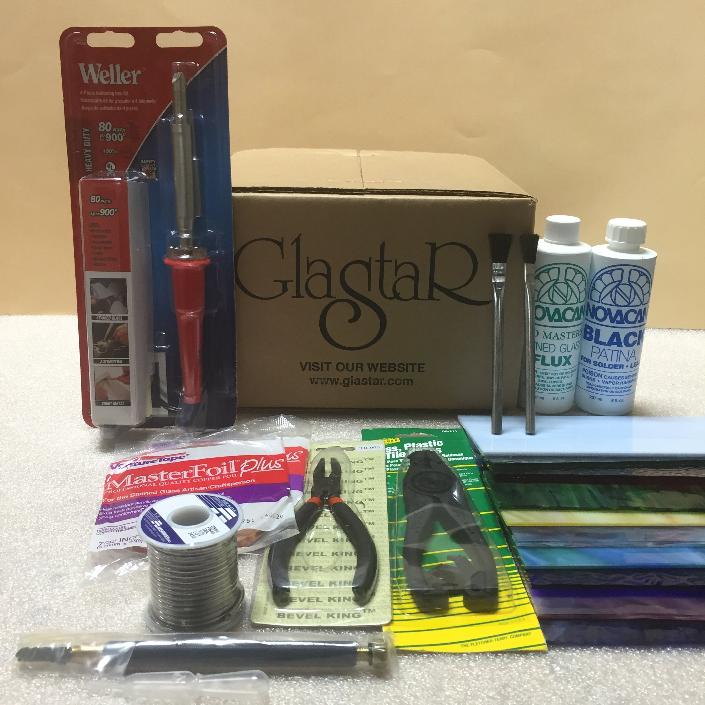 Stained Glass Kit for Beginners and Professionals (with a Grinder)
