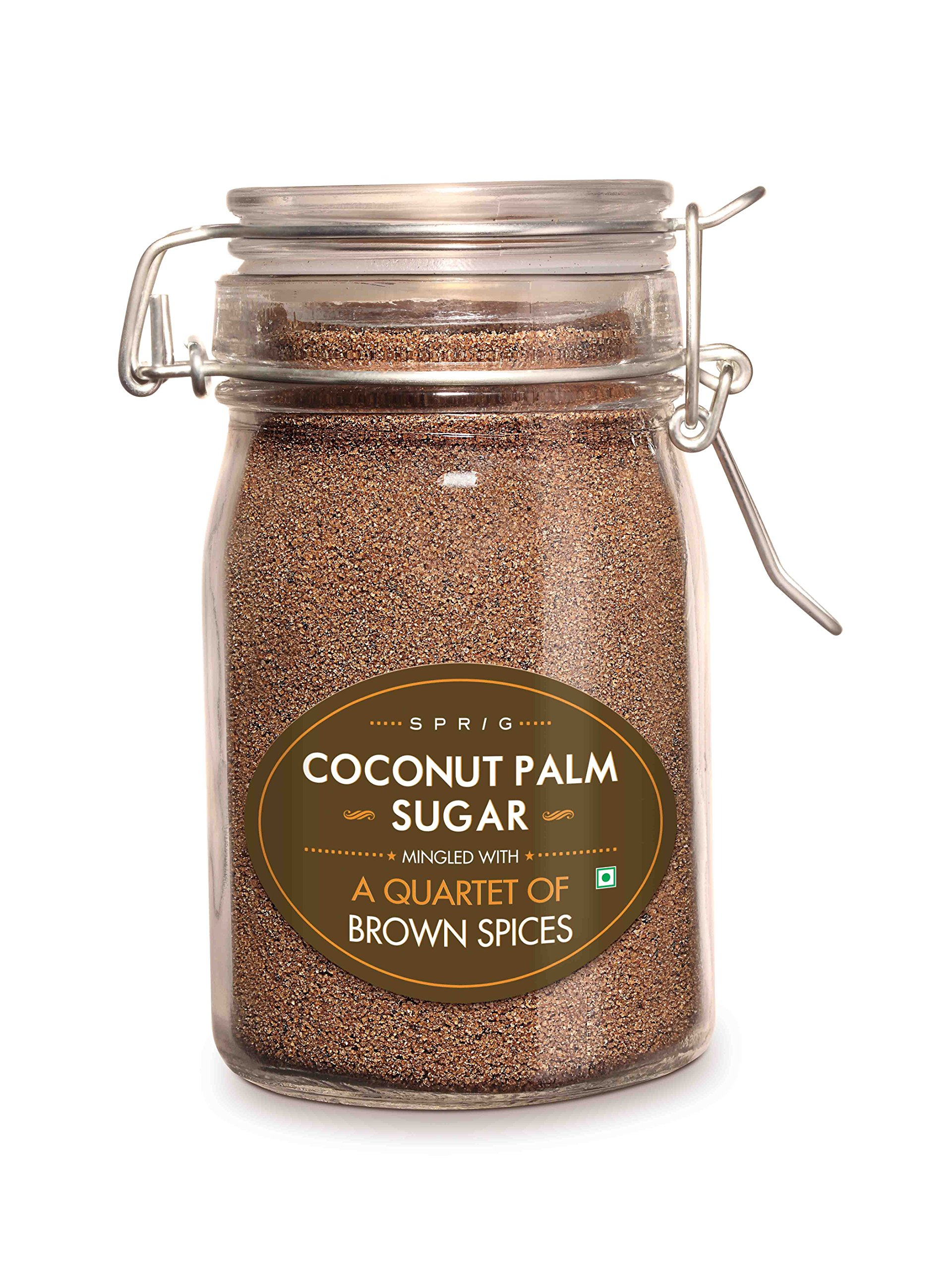 Sprig - Coconut Sugar Infused With Quartet Of Spices - 175 G