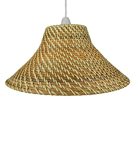 15 light brown core brown coolie wicker lampshades c82 amazon 15 light brown core brown coolie wicker lampshades c82 aloadofball Choice Image