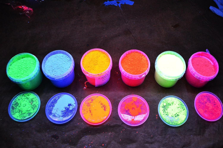 50G di alta qualità polyment fluorescenti luce pigmenti pigmenti pigmenti tagesleucht fluorescenti rosso, giallo, blu, arancione, rosa, verde Polyment GmbH