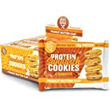 Buff Bake Protein Sandwich Cookies, Peanut Butter Cup, 1.79oz, 8 count