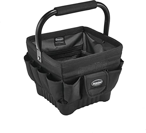 Bucket Boss – Pro Tool Tote 11, Tool Bags – Professional Series 74012 , Black