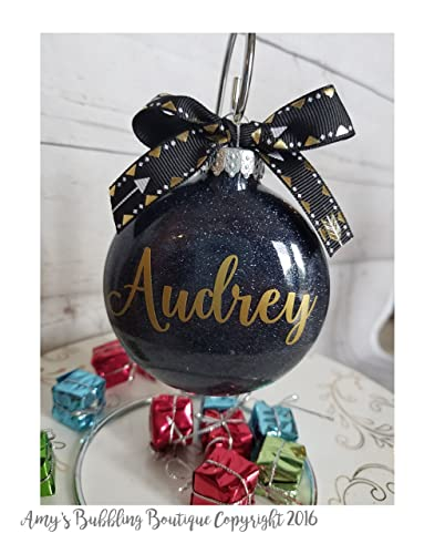 Personalized Christmas Ornament Great Gift For Her Or White Elephant Gift Exchange Fast Shipping