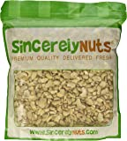 Sincerely Nuts Raw Cashew Pieces Unsalted- Three Lb. Bag - Sensationally Scrumptious - Total Freshness - Filled with Healthy Nutrients- Kosher