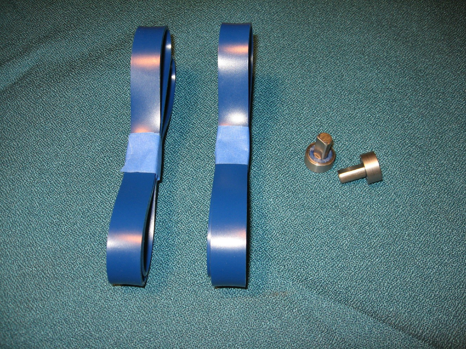 Workmas New Heavy Duty Band Saw Urethane Blue Max Tire Set AND THRUST BEARINGS FOR ROCKWELL DELTA MODEL 28-110