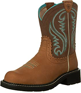 Amazon.com | Ariat Women&39s Fatbaby II Western Cowboy Boot | Mid-Calf