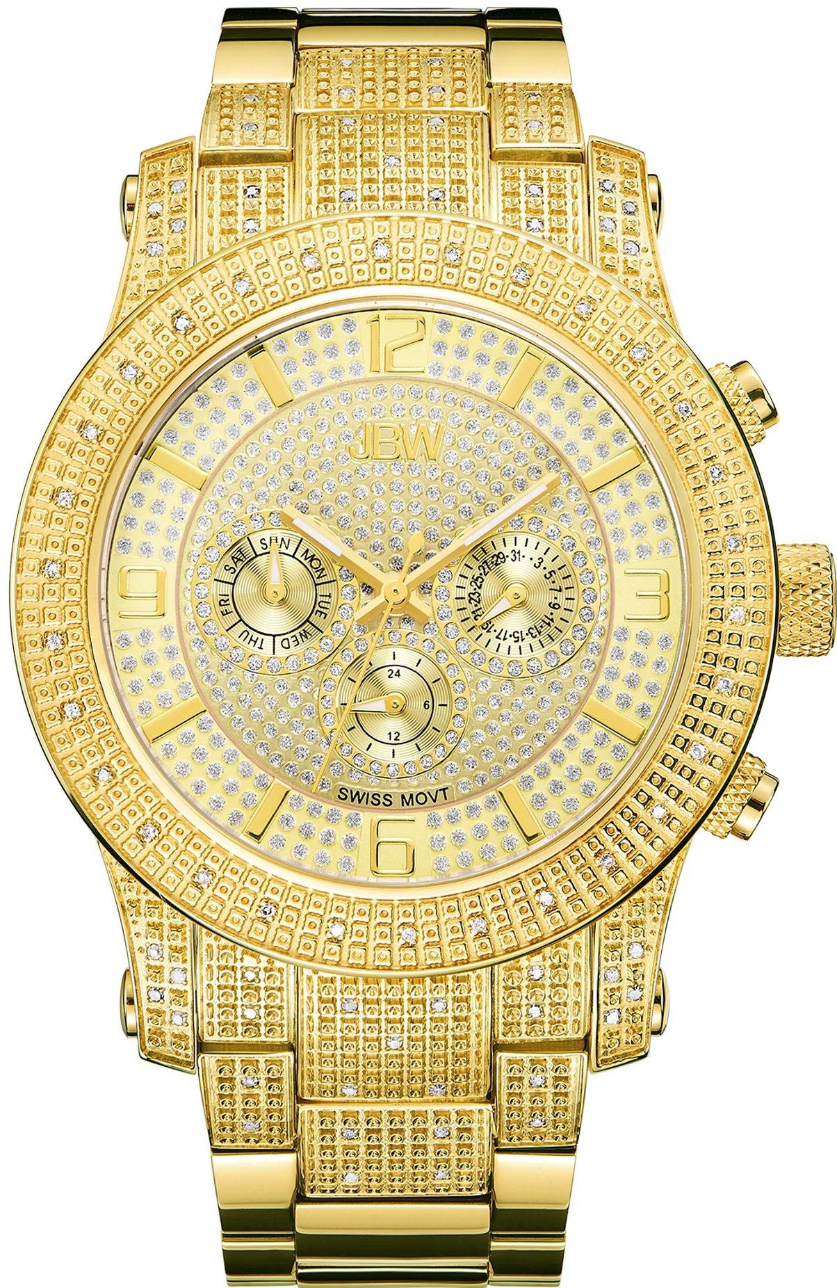 Jbw Men's Lynx J6336B Multi Function Diamond Watch 6