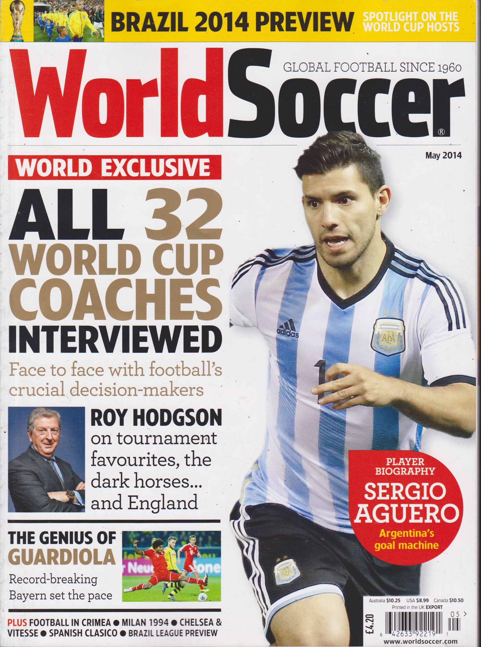 Read Online World Soccer Magazine May 2014 pdf