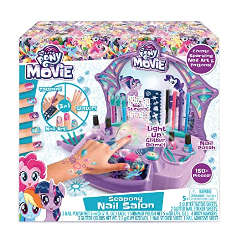 Amazon.com: My Little Pony Nail Salon Nail Salon Kit: Toys & Games