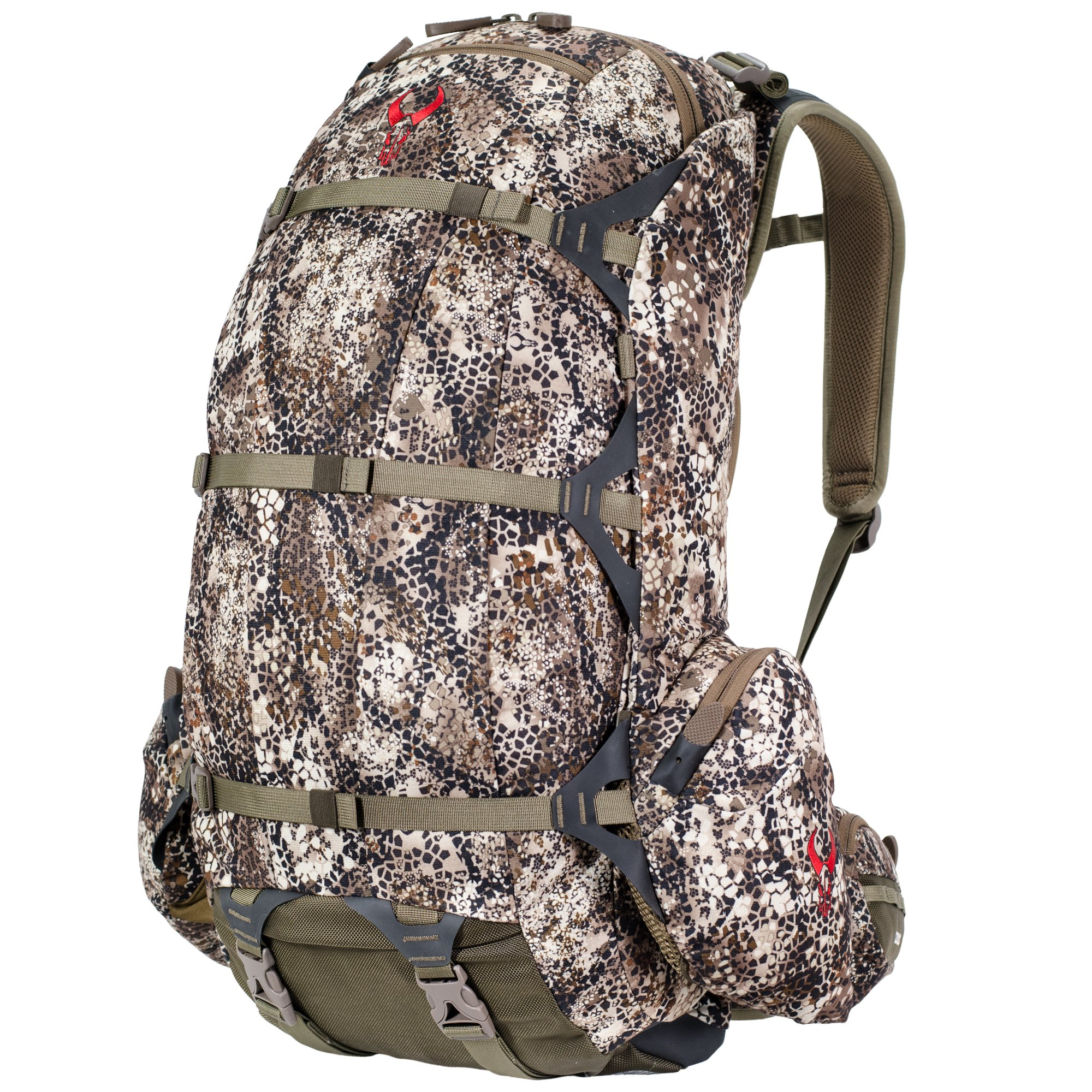 Badlands 2200 Camouflage Hunting Pack and Meat Hauler - Bow, Rifle, and Pistol Compatible, Approach FX by Badlands