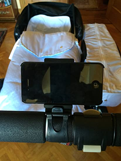 Soporte movil para carrito de bebe - Negro