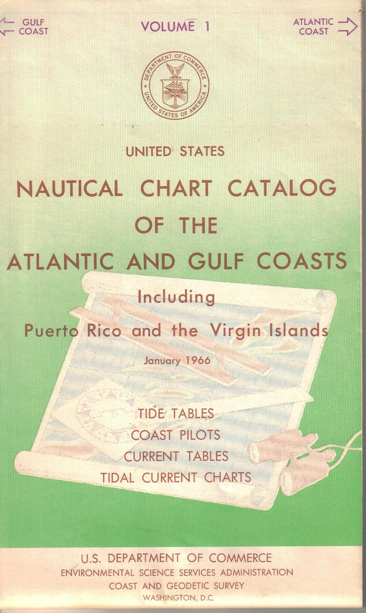 United States Nautical Chart Catalog of the Atlantic and ...